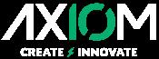 Axiom LogoPrimary Tag White